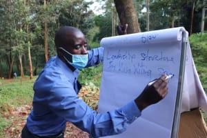 The Water Project: Shikoye Community, Kwa Witinga Spring -  Leadership Training