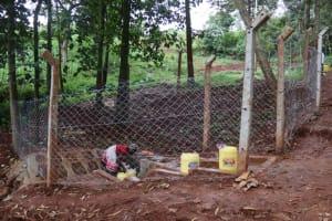 The Water Project: Shikoye Community, Kwa Witinga Spring -  Side View Of Kwa Witinga Spring