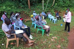 The Water Project: Shikoye Community, Kwa Witinga Spring -  Use Of Water Discusion