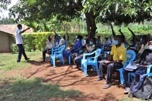 The Water Project: Shisasari Itumbu Community, Mathias Juma Spring -  Active Participation