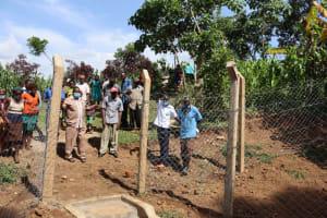 The Water Project: Shisasari Itumbu Community, Mathias Juma Spring -  Onsite Training