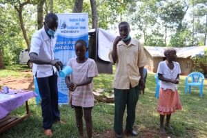 The Water Project: Shisasari Itumbu Community, Mathias Juma Spring -  Proper Hygiene Practices