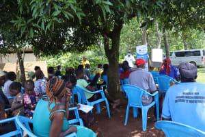 The Water Project: Shisasari Itumbu Community, Mathias Juma Spring -  Training In Session