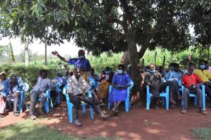The Water Project: Shisasari Itumbu Community, Mathias Juma Spring -  Community Member Question