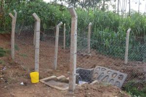 The Water Project: Shisasari Itumbu Community, Mathias Juma Spring -  The Water Point Structure