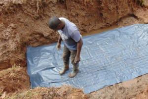 The Water Project: Bumira Community, Savai Spring -  Foundation Preparation
