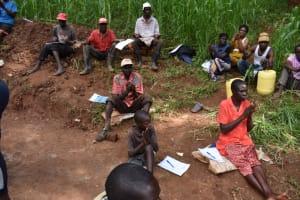 The Water Project: Bumira Community, Savai Spring -  Handwashing Exercise
