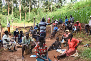The Water Project: Bumira Community, Savai Spring -  Training Session