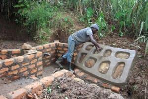 The Water Project: Shibikhwa Community, Musotsi Spring -  Stone Pitching
