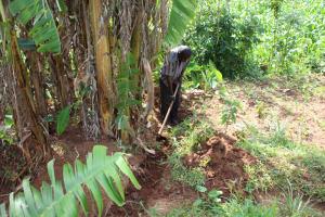 The Water Project: Shibikhwa Community, Musotsi Spring -  Cut Off Drainage