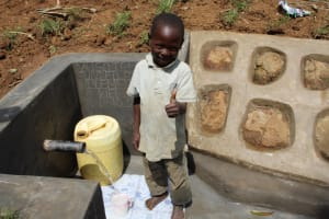 The Water Project: Shibikhwa Community, Musotsi Spring -  All Smiles