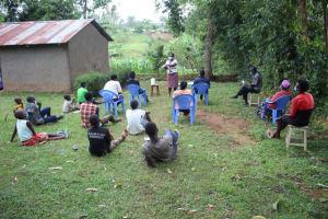 The Water Project: Shibikhwa Community, Musotsi Spring -  Handwashing Demonstration