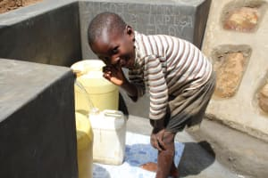 The Water Project: Shibikhwa Community, Musotsi Spring -  Happy For Clean