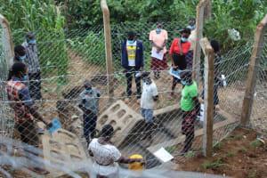 The Water Project: Shibikhwa Community, Musotsi Spring -  Onsite Training