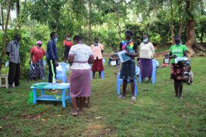 The Water Project: Shibikhwa Community, Musotsi Spring -  Opening With Prayers