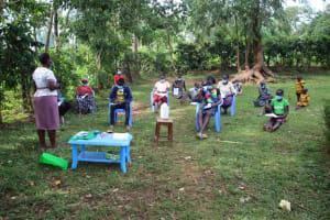 The Water Project: Shibikhwa Community, Musotsi Spring -  Training Session
