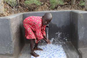 The Water Project: Shikokhwe Community, Mulika Spring -  Angel Having Fun