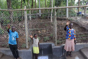 The Water Project: Shikokhwe Community, Mulika Spring -  Community Member At