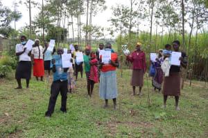 The Water Project: Shikokhwe Community, Mulika Spring -  Community Members