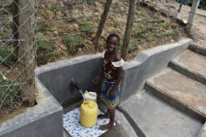 The Water Project: Shikokhwe Community, Mulika Spring -  Monika Is