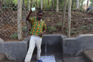 The Water Project: Shikokhwe Community, Mulika Spring -  Water Celebration