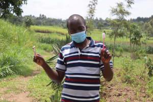 The Water Project: Shikokhwe Community, Mulika Spring -  Dental Hygiene Practice