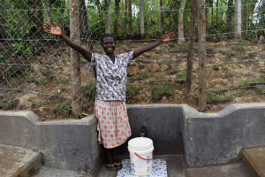 The Water Project: Shikokhwe Community, Mulika Spring -  Excited About Water