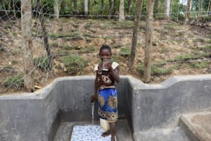 The Water Project: Shikokhwe Community, Mulika Spring -  Excited