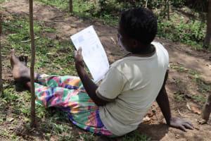 The Water Project: Shikokhwe Community, Mulika Spring -  Leaflet On Covid