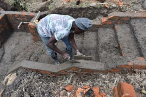 The Water Project: Mwera Community, Mukunga Spring -  Stairs Construction