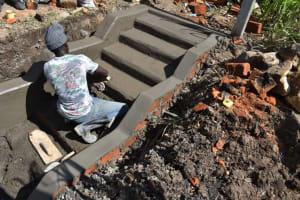 The Water Project: Mwera Community, Mukunga Spring -  Stone Construction