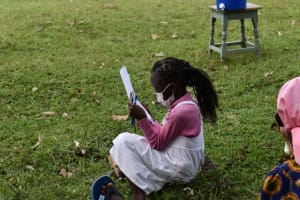 The Water Project: Mwera Community, Mukunga Spring -  Blessing Reading On Covid