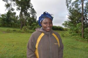 The Water Project: Mwera Community, Mukunga Spring -  Esther O