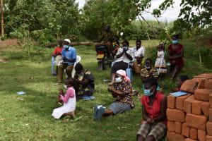 The Water Project: Mwera Community, Mukunga Spring -  Handwashing Exercise