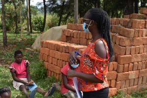The Water Project: Mwera Community, Mukunga Spring -  Olivia Leading Session