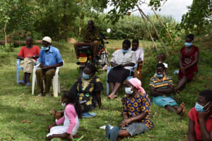 The Water Project: Mwera Community, Mukunga Spring -  Training Session