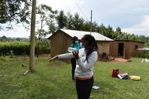 The Water Project: Mwera Community, Mukunga Spring -  Treat Water With Solar