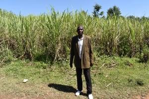 The Water Project: Sundulo B Community, Luvisia Spring -  Alfred Shiundu Chairman