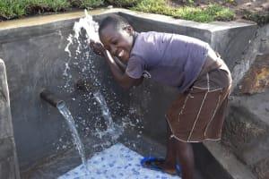 The Water Project: Sundulo B Community, Luvisia Spring -  Celebrating Water