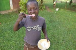 The Water Project: Sundulo B Community, Luvisia Spring -  Dental Care Training
