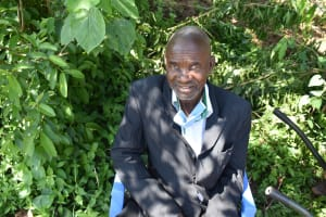 The Water Project: Sundulo B Community, Luvisia Spring -  Henry Lukamasia