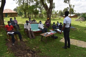 The Water Project: Sundulo B Community, Luvisia Spring -  Ongoing Training