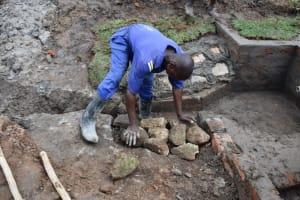 The Water Project: Shianda Community, Govet Lumbasi Spring -  Stone Pitching