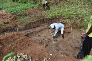 The Water Project: Shianda Community, Govet Lumbasi Spring -  Excavation