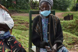 The Water Project: Shianda Community, Govet Lumbasi Spring -  Elderly Woman At Training