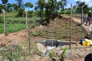 The Water Project: Shianda Community, Govet Lumbasi Spring -  Govet Lumbasi Waterpoint