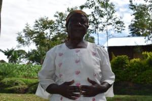 The Water Project: Shianda Community, Govet Lumbasi Spring -  Jane Astwenje