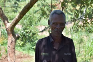 The Water Project: Shianda Community, Govet Lumbasi Spring -  Mr Govet Lumbasi