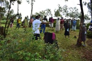 The Water Project: Shianda Community, Govet Lumbasi Spring -  Ongoing Training