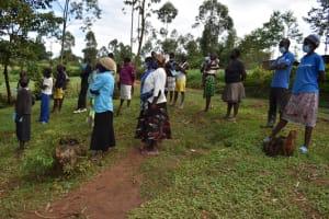 The Water Project: Shianda Community, Govet Lumbasi Spring -  Participants At Training